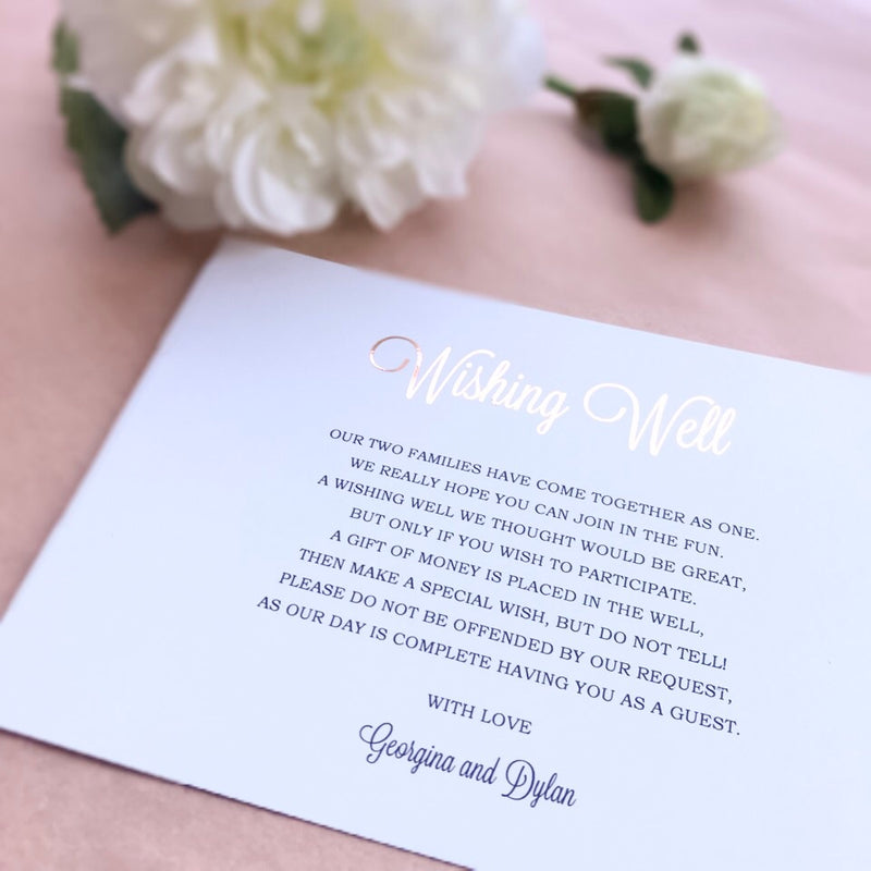 Dusky Rose Wishing Well -   - Adore Paper