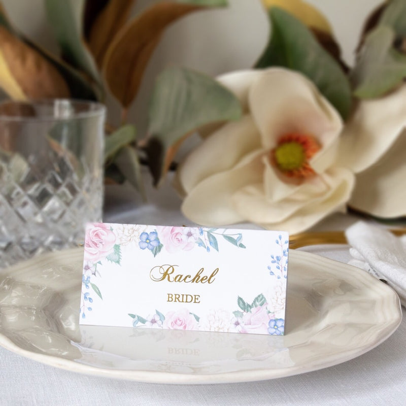 Secret Garden - Place Cards -  invitations - Adore Paper