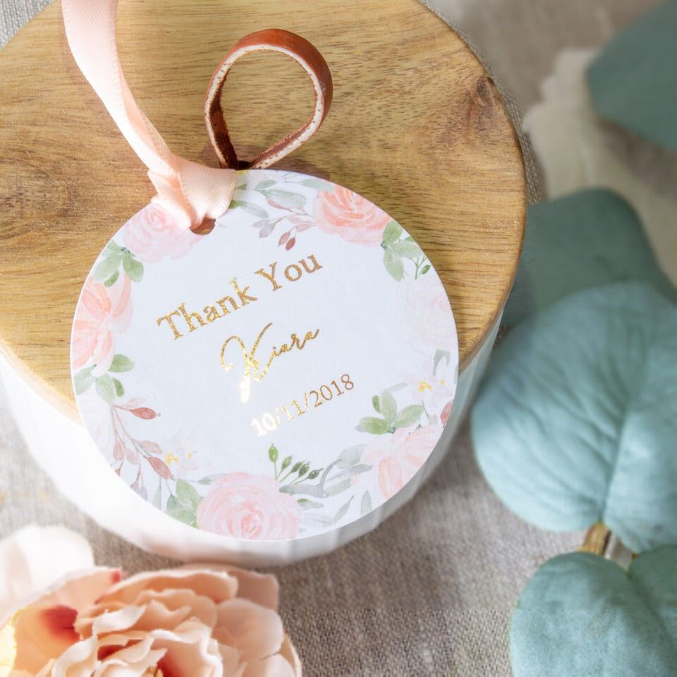 Floral Blush - Tags