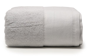 "Pale Grey -  Jumbo Bath Towel 40"" x 90"""