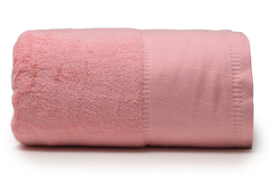 "Deep Pink - Jumbo Bath Towel 40"" x 90"""