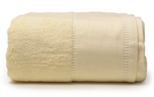 "Pale Yellow -  Jumbo Bath Towel 40"" x 90"""