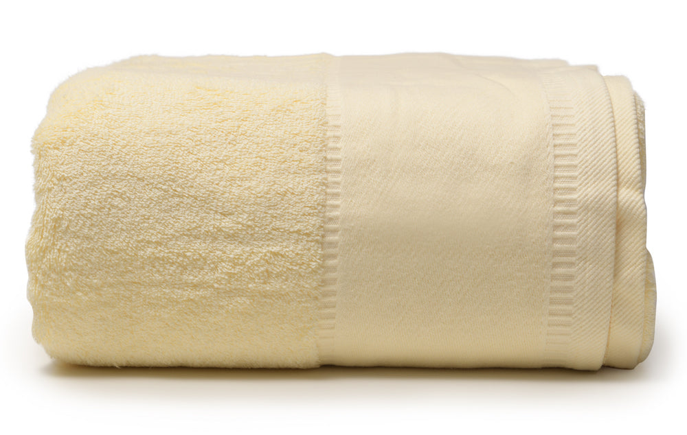 Pale Yellow -  Jumbo Bath Towel 40