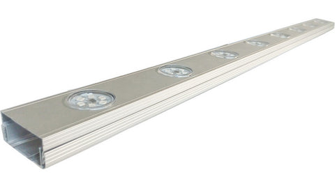 Round led module light installationn Aluminum trough,1000*60*25mm, can be instationn 6,8 and 10pcs led round module Aluminum