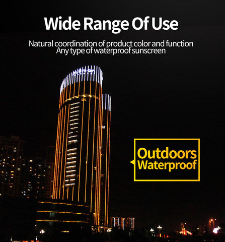 Flexible LED Light Lamp Outdoor