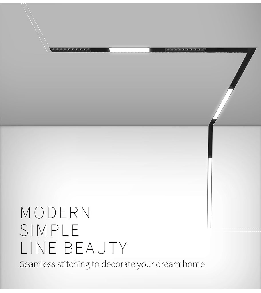 luminaire linear Indoor magnetic led light