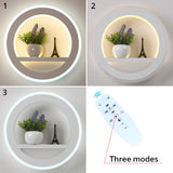 Modern Bedroom Room Decoration Lighting Wall Light With Flower