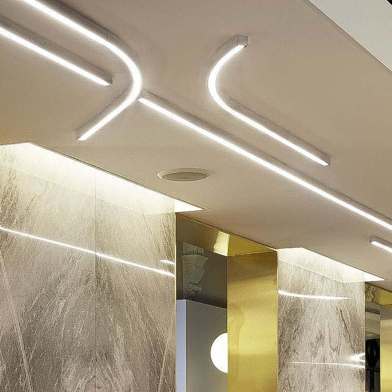 corp india pro channel linear light lighting