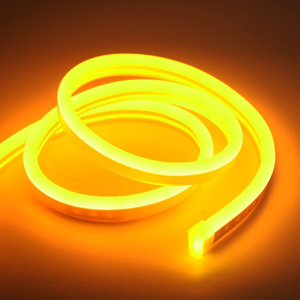 DC 12V Flexible Led Strip Neon Tape SMD 2835 Soft Rope Bar Light 120LEDs/M Silicon Rubber Tube Outdoor Waterproof lighting