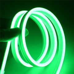 Silicone Flexible LED Neon light Tube Strips  Waterproof Dance Party Car Decor Light