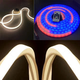 WS2812B WS2811 WS2813 WS2815 5050 LED Neon Rope Tube Silica Gel Flexible Strip Light Soft Lamp Tube IP67 Waterproof
