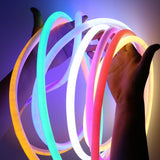 220V 2835 120LEDs/M 14MM Round LED Strip Light  Soft Neon Tape Bar light Waterproof IP68 Flexible Led Strip with Plug