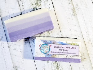 Lavender and Lace Bar Soap