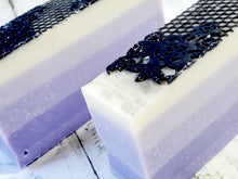 Load image into Gallery viewer, Lavender and Lace Bar Soap