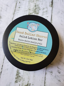 Sand Dollar Shores Solid Lotion Bar