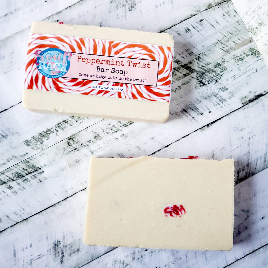Peppermint Twist Bar Soap
