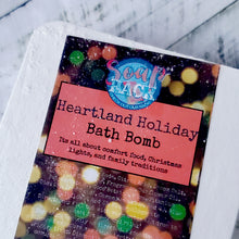 Load image into Gallery viewer, Heartland Holiday Bath Bomb