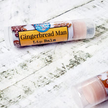 Load image into Gallery viewer, Gingerbread Man Lip Balm