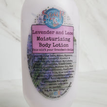 Load image into Gallery viewer, Lavender and Lace Moisturizing Body Lotion