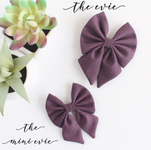 The Evie  ::  Vintage Plum