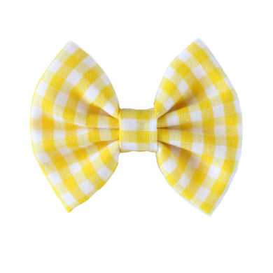 The Mae  ::  Yellow Gingham