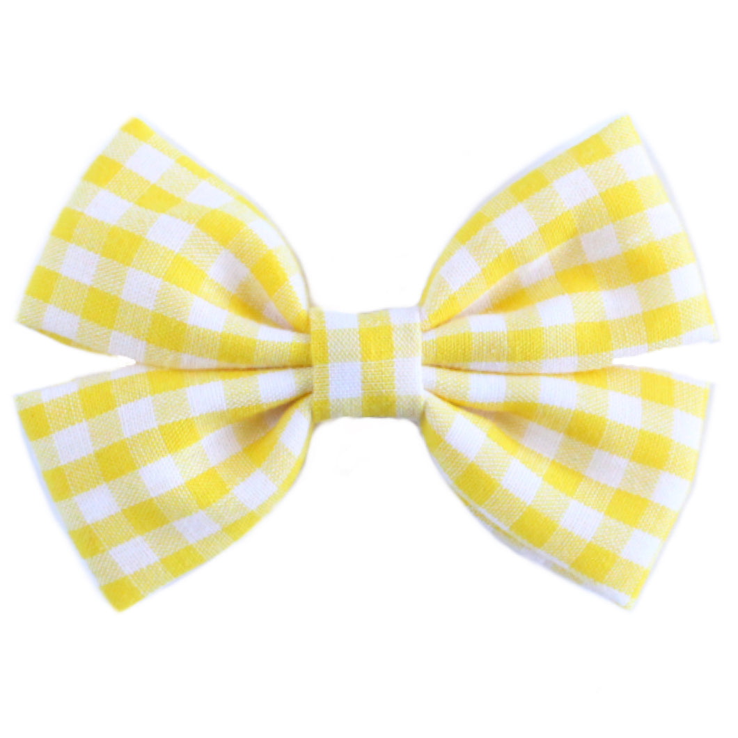 The Elle  ::  Yellow Gingham