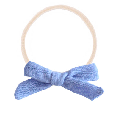 The mini Charlotte  ::  Periwinkle Gauze