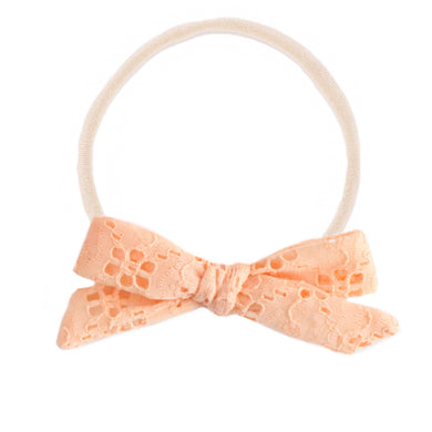 The mini Charlotte  :: Peach Eyelet