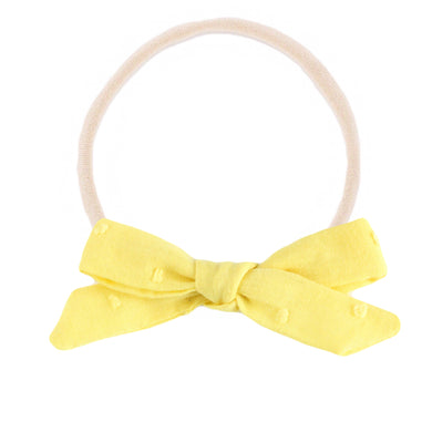 The mini Charlotte  ::  Yellow  Swiss