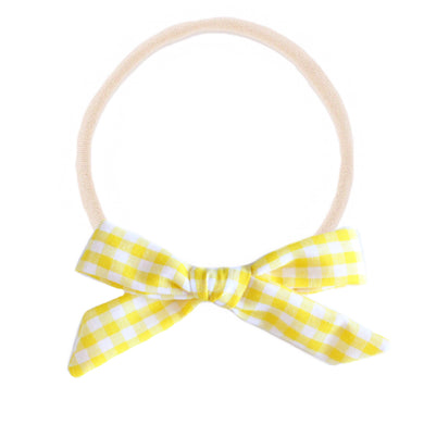 The mini Charlotte  ::  Yellow Gingham