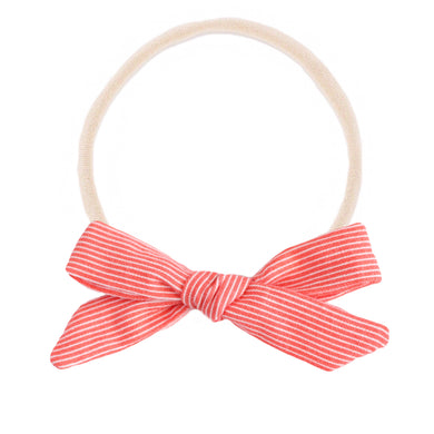 The mini Charlotte  ::  Coral Stripe