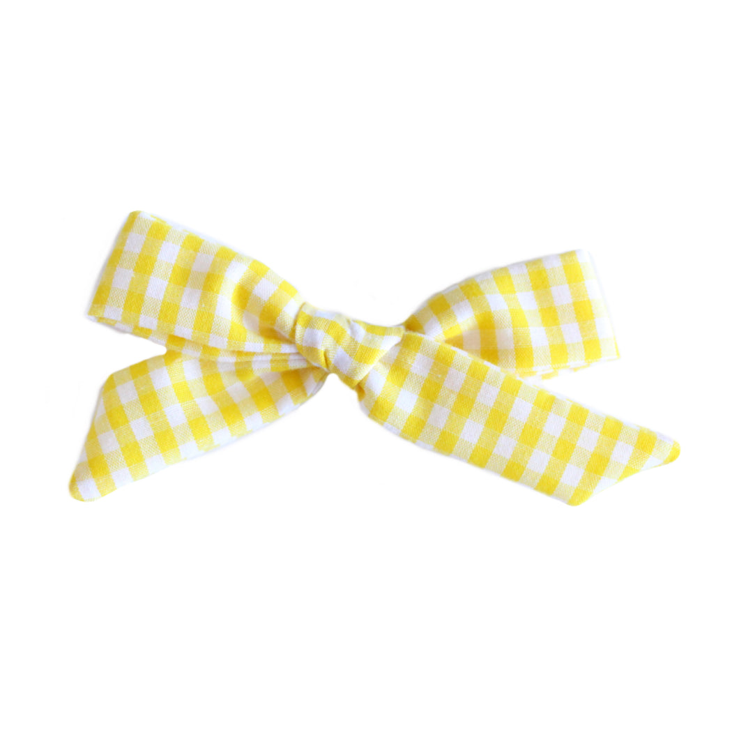 The Charlotte  ::  Yellow Gingham