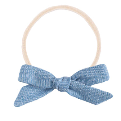 The mini Charlotte  ::  Light Chambray