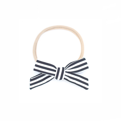 The mini Charlotte  ::  Black Stripe