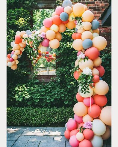 Buy or DIY?  Balloon Garlands