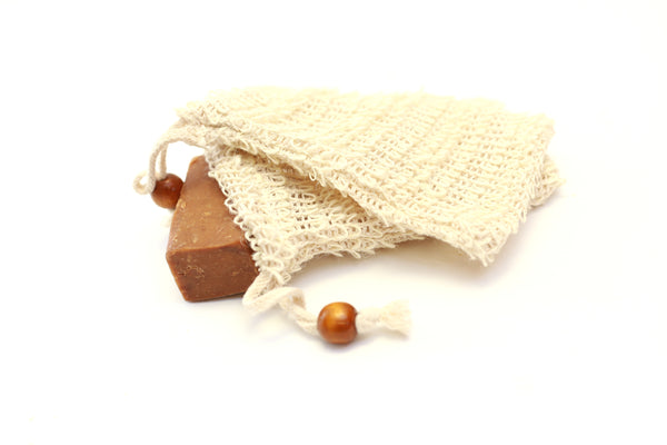 Natural Soap Pouch/ Bath Mesh