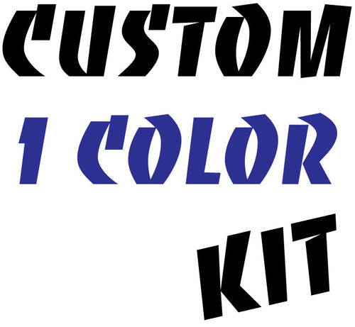 ROS Custom Reflective 1 Color Kit