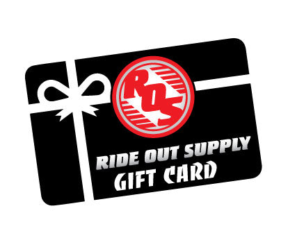 Ride Out Supply Gift Cards