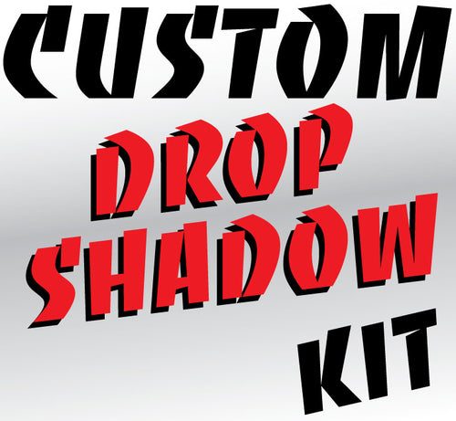 ROS Custom Reflective Drop Shadow kit