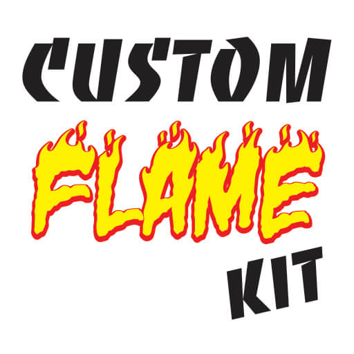 ROS Custom Reflective Flame Kit