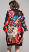 "Retro Coat ""Martian meets Cat"""