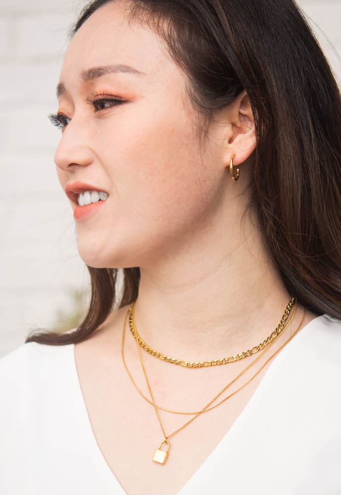 Freedom Layered Gold Necklace
