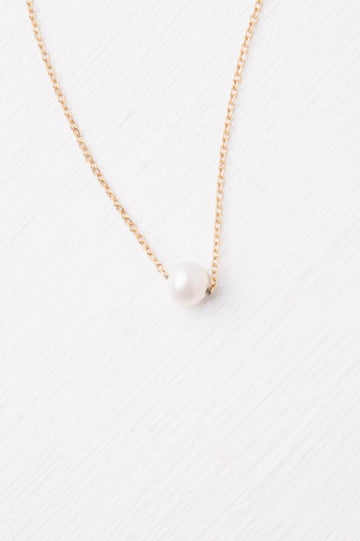 Katherine Gold & Pearl Necklace