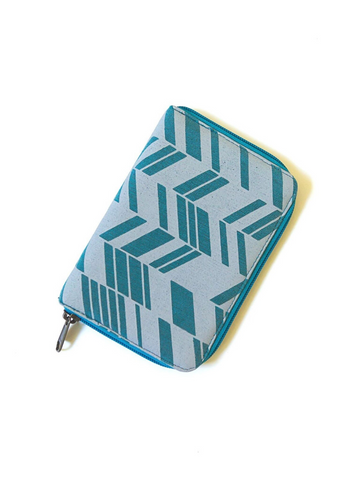 Zip Folder Jewelry Travel Organizer - Chevron