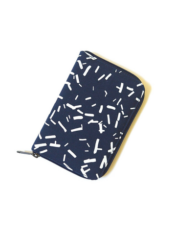 Zip Folder Jewelry Travel Organizer - Confetti
