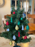 Paper Bead Tree Ornament - Multiple Colors Available