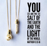 Salt + Light Necklace - Bulb