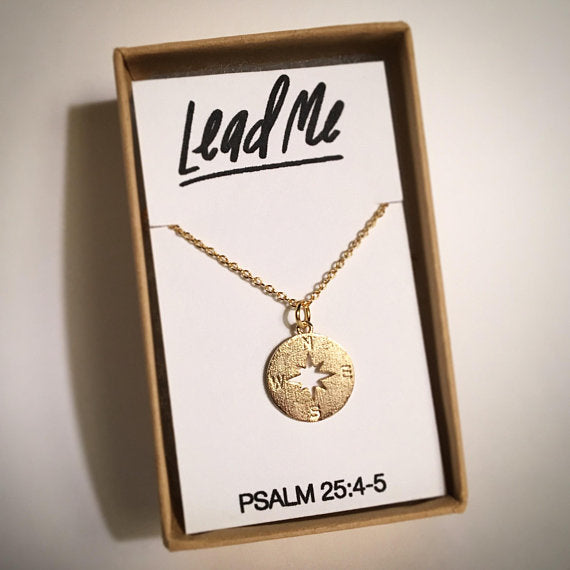 Lead Me Necklace