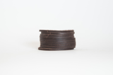 Slitted Cuff - Brown