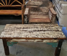 Reclaimed Boat Wood Lounge Set